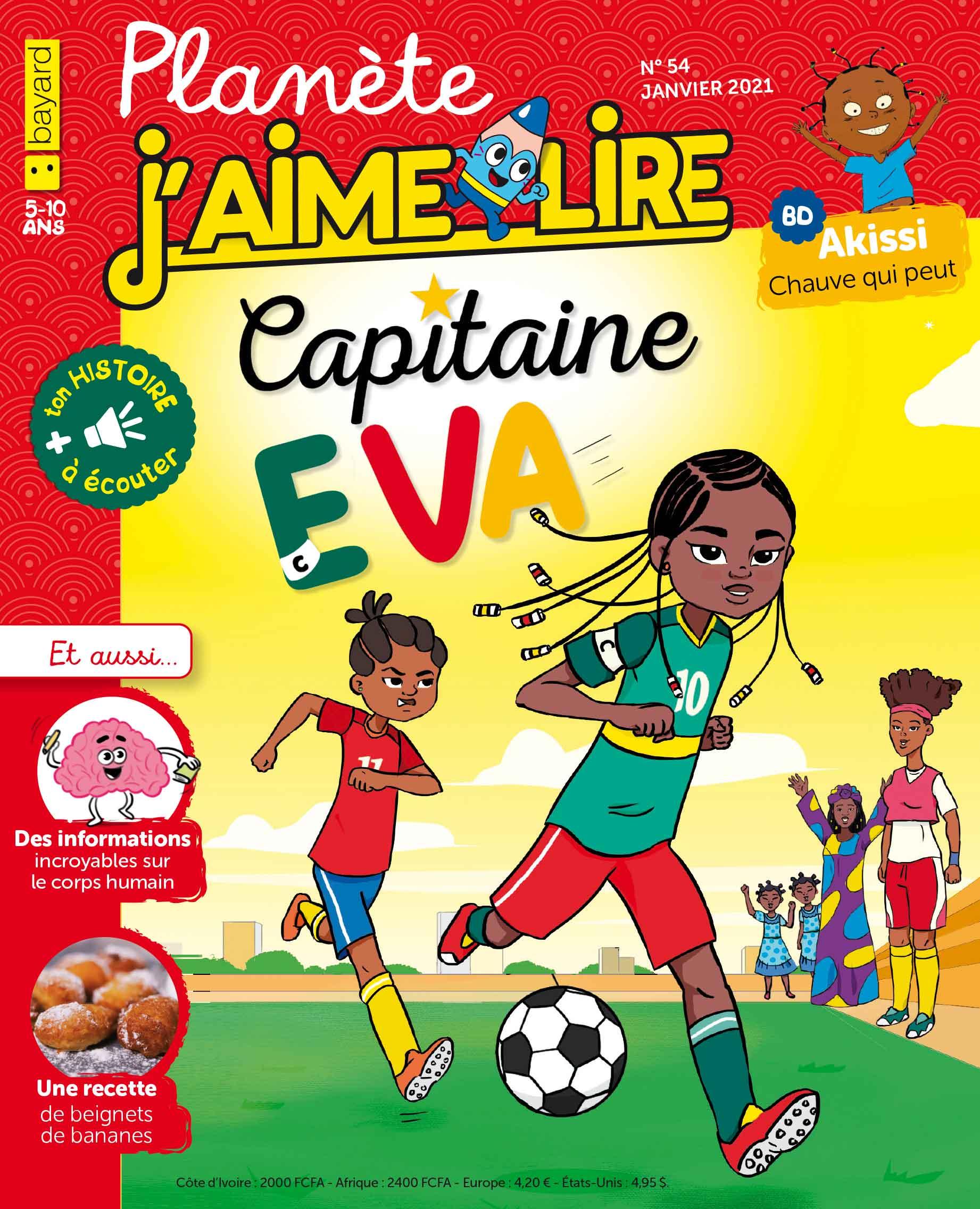 Planete J'aime lire N°54 janvier 2021 bayard afrique